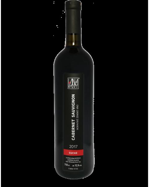 Cabernet Sauvignon 2017 | pozdní sběr, suché